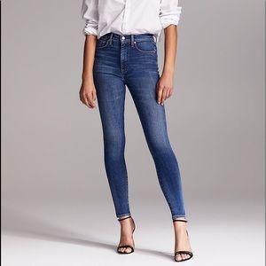 Aritzia Denim Forum Lola High Rise Skinny Jeans
